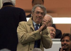 Massimo Moratti, presidente dell'Inter