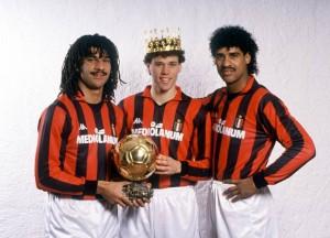Milan di Sacchi, il trio delle meraviglie Olandesi
