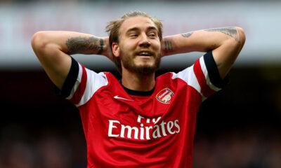 Nicklas Bendtner, attaccante dell'Arsenal Calciomercato