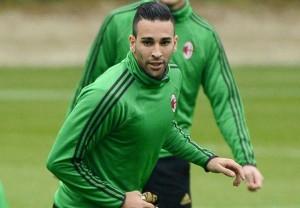 Adil Rami, nuovo difensore rossonero