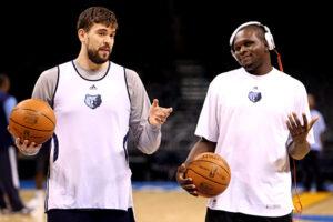 Gasol, Randolph, la coppia di lunghi che sta facendo la fortuna dei Memphis Grizzlies