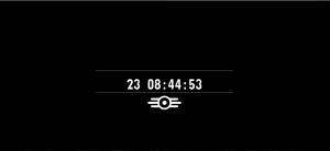 Il logo della Vault-Tec apparso nel sito