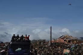 I danni provocati dal tifone abbattutosi sulle Filippine