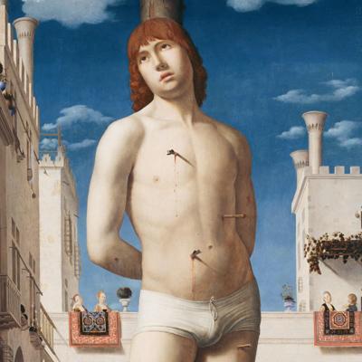 """Antonello da Messina, """"San Sebastiano"""" (1475 circa), Dresda, Gemäldegalerie"""