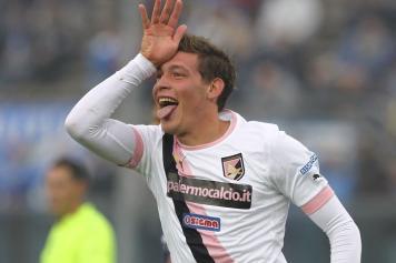 Il giovane Belotti, che potrebbe debuttare da titolare in Napoli-Palermo