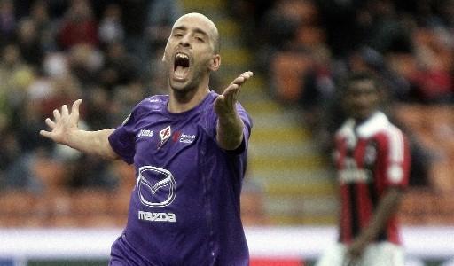 Borja Valero, signore del centrocampo della Fiorentina.