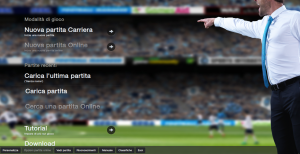 La home di Football Manager14