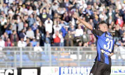 Ghezzal, uno dei marcatori di Palermo-Latina