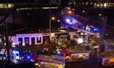 L'elicottero precipitato sul pub a Glasgow