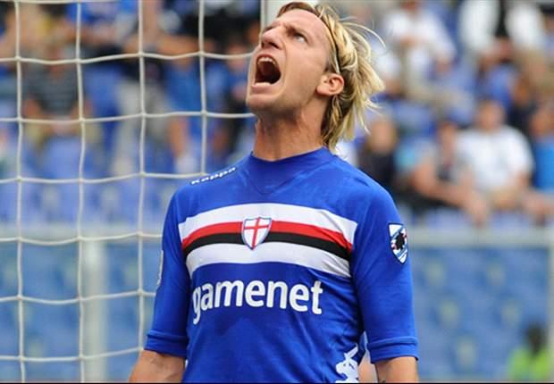 Maxi Lopez decide il derby tra Genoa e Sampdoria.