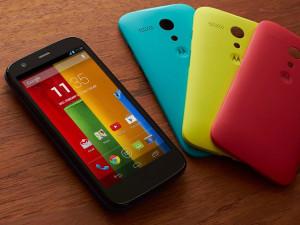 Diverse varianti di colore per Motorola Moto G