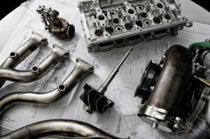 Motore turbo V6 Renault 2014