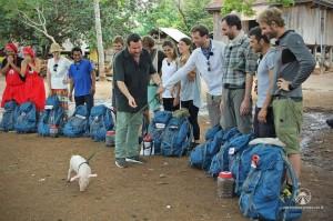 Tappa nel Laos