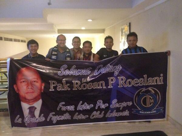 Roeslani show in un Inter club indonesiano
