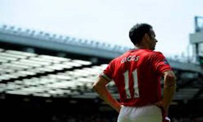 Il gallese del Manchester United Ryan Giggs