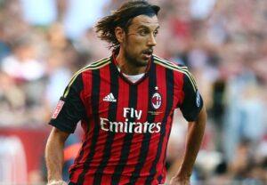 Cristian Zaccardo, difensore del Milan