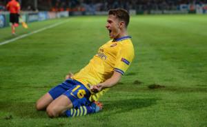 Ramsey esulta, il mondo tocca ferro