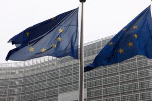 La sede della Commissione europea, a Bruxelles.