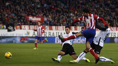 Diego Costa, 17 reti nella Liga