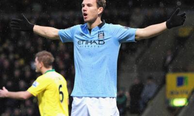 Premier League: Dzeko, grande protagonista del derby di Manchester