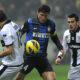 Javier Zanetti contro il Parma