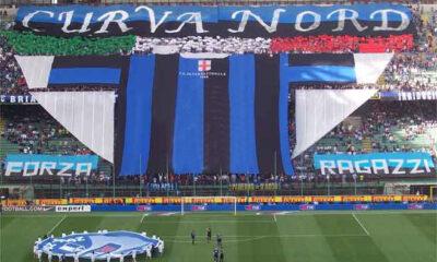 La Curva Nord dell'Inter