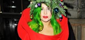 Lady Gaga in versione natalizia