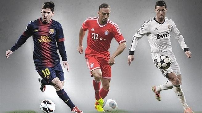 Pallone d'oro, i tre finalisti
