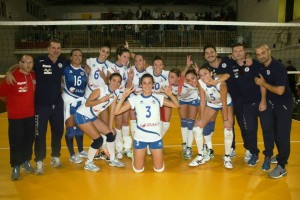 Frinzi Russo e l'Akragas Volley