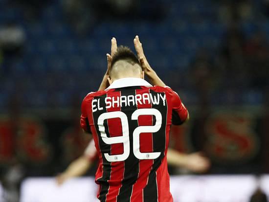 cagliari milan el shaarawy