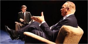 Frost/Nixon: una scena del film di Ron Howard