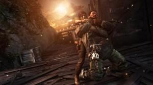 Tomb Raider: Lara sfrutta la sua intelligenza per avvicinarsi di soppiatto ai nemici