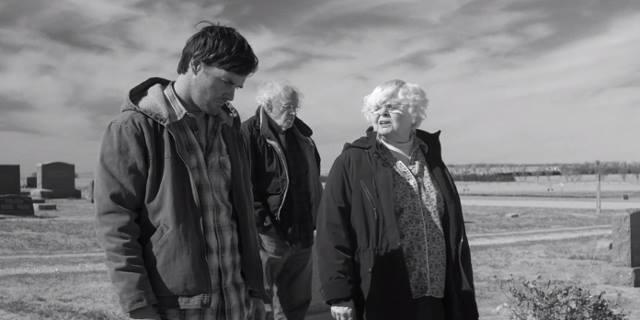 Will Forte con gli anziani protagonisti del film.