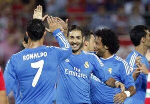 Nessun problema per il Real Madrid contro l'Almeria