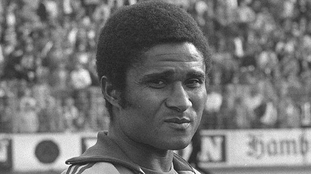 Eusebio, leggenda del calcio portoghese
