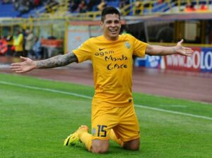Iturbe, attaccante dell'Hellas Verona Inter
