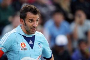 Del Piero, doppietta per lui contro il Melbourne