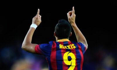 Alexis Sanchez, principale obiettivo della Juventus