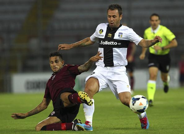 Antonio Cassano in cerca di una maglia da titolare in Livorno-Parma