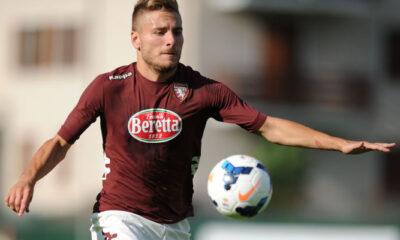 Ciro Immobile in goal in Sassuolo-Torino