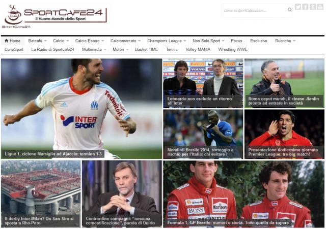 Database Siti - SportCafe24