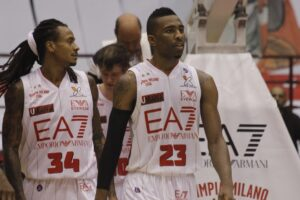 David Moss e Keith Langford: equilibrio ed esplosività per Milano in Eurolega.