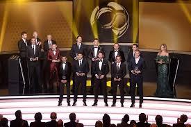 Il FIFA FIFPro World XI 2013 al Galà di Zurigo.