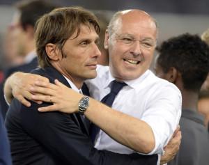 Antonio Conte e Giuseppe Marotta