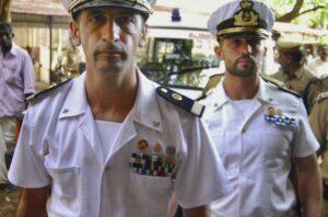 Massimiliano Latorre e Salvatore Girone, i due marò in attesa di giudizio in India.