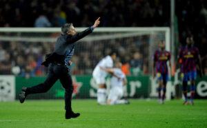 Jose Mourinho, allenatore dell'Inter nel 2010