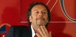 Massimo Cellino, presidente del Cagliari