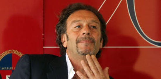Massimo Cellino, presidente del Leeds