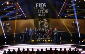 Pallone d'oro 2013 - La cerimonia