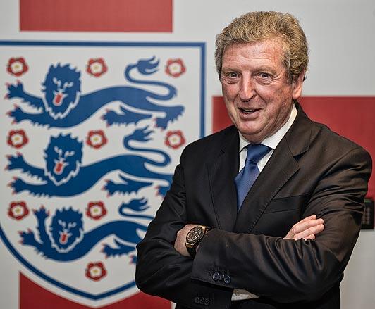 Roy Hodgson, ct della nazionale inglese